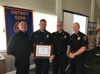 Redondo Rotary Club Firefighter of the Year for 2018