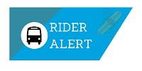 Rider Alert BCT - November/December Holidays