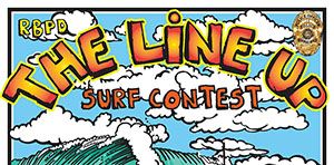 RBPD The Line Up Surf Contest