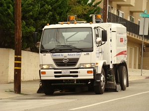 Public Works Street Sweeping